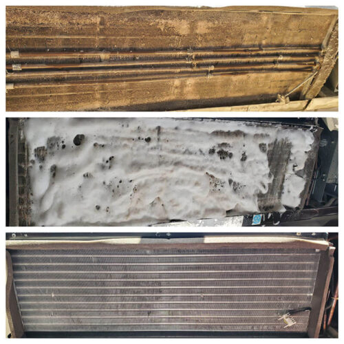 ptac unit cleaning before and after
